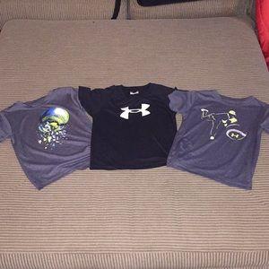 Under Armour 4t shirt bundle.